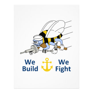 Seabess Build We Fight Letterhead Template