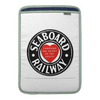 Seaboard Air Line Railway Heart Logo Sleeve For MacBook Air