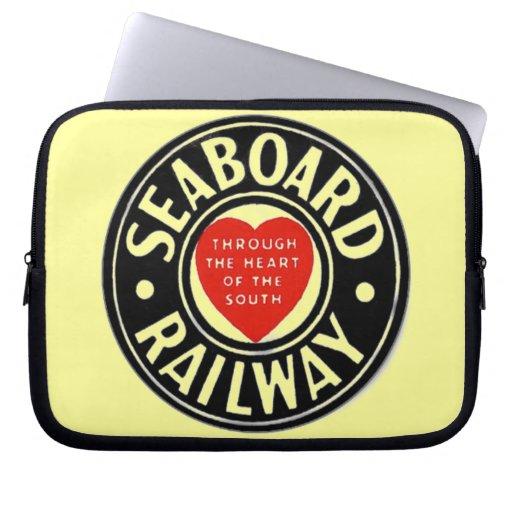 Seaboard Air Line Railway Heart Logo Laptop Computer Sleeve