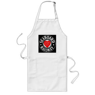 Seaboard Air Line Railway Heart Logo Long Apron