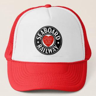 Seaboard Air Line Railway Heart Logo Trucker Hat