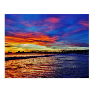 Seacliff Beach Sunset. Santa Cruz, CA. Postcard