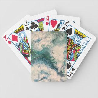 Seafoam 2 bicycle playing cards