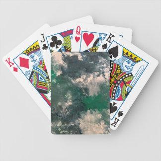 Seafoam 3 bicycle playing cards