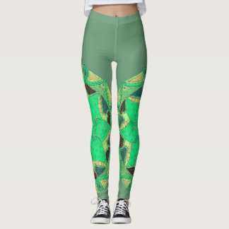 Seafoam Bloom Leggings
