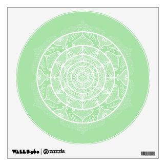 Seafoam Mandala Wall Sticker