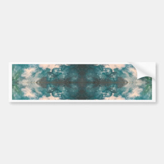 Seafoam Pattern Bumper Sticker