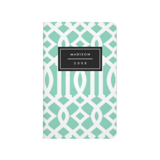 Seafoam Trellis | Pocket Journal