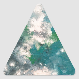 Seafoam Triangle Sticker