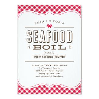 Seafood Boil Invitations