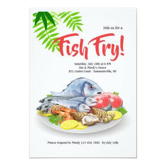 Seafood Platter Invitation
