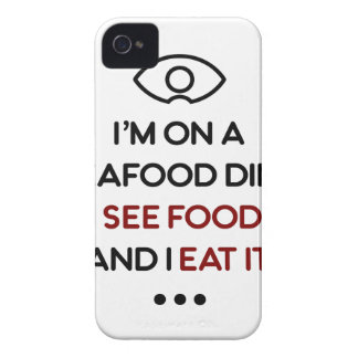 Seafood See Food Eat It Diet Case-Mate iPhone 4 Case