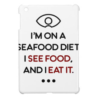 Seafood See Food Eat It Diet Cover For The iPad Mini