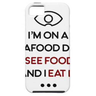 Seafood See Food Eat It Diet iPhone 5 Cover