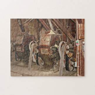 Seaford Hearns Pond Old Mill. Jigsaw Puzzle
