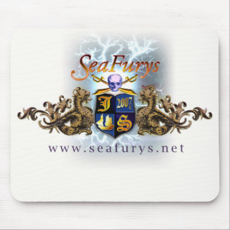 SeaFurys Shield (White) Mousepad