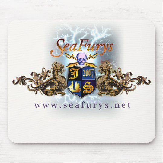 SeaFurys Shield (White) Mousepad