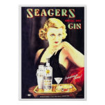 Seager's Gin Posters