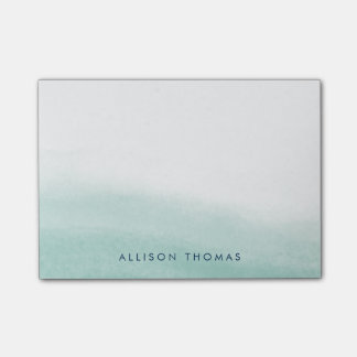 Seaglass Tides Personalized Post-it Notes