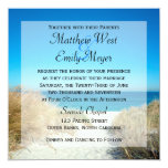 Seagrass Beach Wedding Invitations