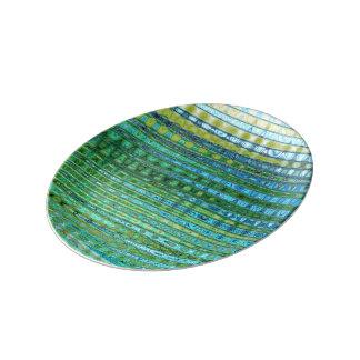 Seagrass Decorative Porcelain Plate