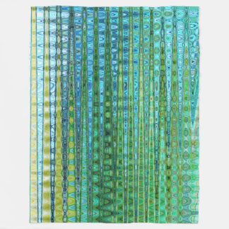 Seagrass Fleece Blanket by C.L. Brown