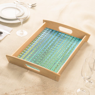 Seagrass Large Serving Tray in Natural