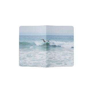 Seagull at the Beach in California Passport Holder
