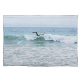 Seagull at the Beach in California Placemat