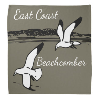 Seagull Beach East Coast Beachcomber bandanna