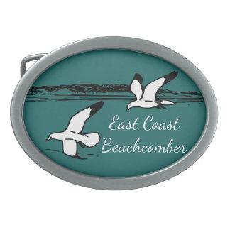 Seagull Beach East Coast Beachcomber belt buckle
