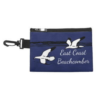 Seagull Beach East Coast Beachcomber clip on bag