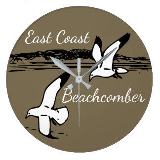 Seagull Beach East Coast Beachcomber clock