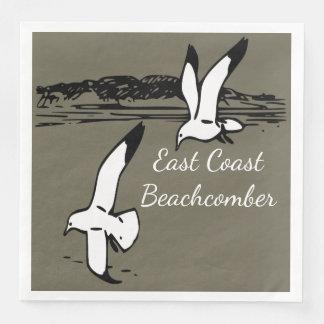Seagull Beach East Coast Beachcomber  napkins