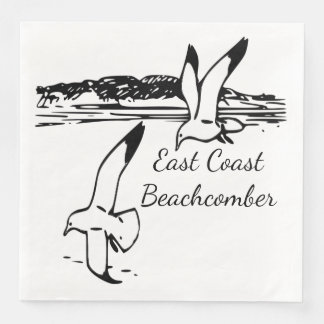 Seagull Beach East Coast Beachcomber  napkins Disposable Napkin