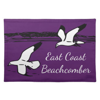 Seagull Beach East Coast Beachcomber place mat
