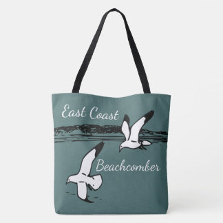 Seagull Beach East Coast Beachcomber tote bag