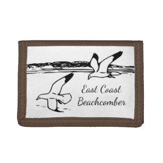 Seagull Beach East Coast Beachcomber wallet
