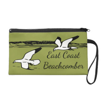 Seagull Beach East Coast Beachcomber  Wristlet