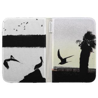 Seagull Bird Wildlife Ocean Beach Animals Kindle Keyboard Case