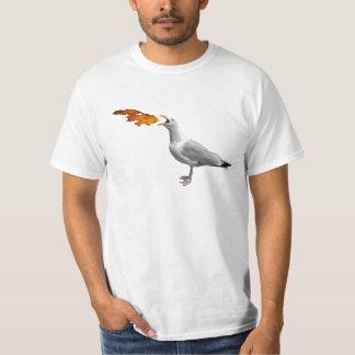 Seagull Breathing Fire T-Shirt