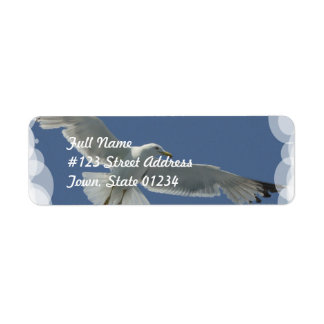 Seagull Flight Mailing Labels