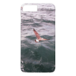 SEAGULL FLYING OVER THE WAVES iPhone 8 PLUS/7 PLUS CASE