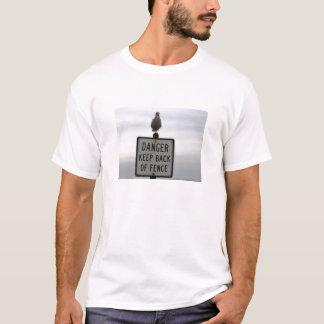 Seagull Guard dog contrast T-Shirt