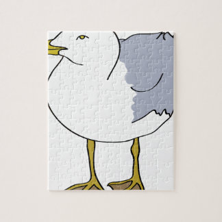 Seagull Illustration Jigsaw Puzzle