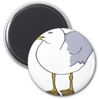 Seagull Illustration Magnet