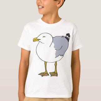 Seagull Illustration T-Shirt