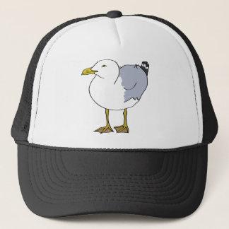 Seagull Illustration Trucker Hat