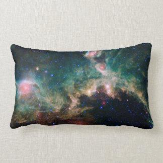 Seagull Nebula Lumbar Pillow