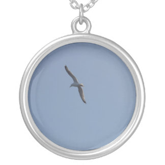 Seagull necklace
